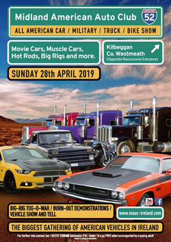 Midlands American Car Show - Daves BBQ and Catering