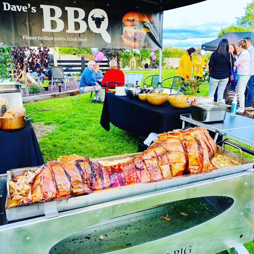 Hog Roast Equipment Hire - Daves BBQ and Catering